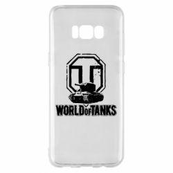Чохол для Samsung S8+ Логотип World Of Tanks