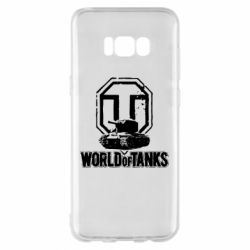 Чехол для Samsung S8+ Логотип World Of Tanks