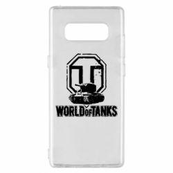 Чехол для Samsung Note 8 Логотип World Of Tanks