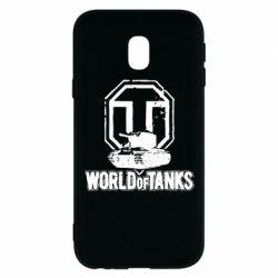 Чехол для Samsung J3 2017 Логотип World Of Tanks