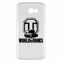 Чехол для Samsung A7 2017 Логотип World Of Tanks