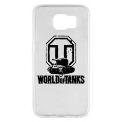 Чехол для Samsung S6 Логотип World Of Tanks