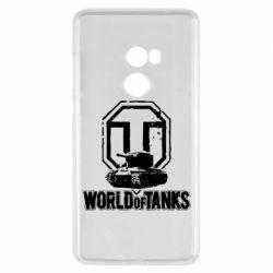 Чехол для Xiaomi Mi Mix 2 Логотип World Of Tanks