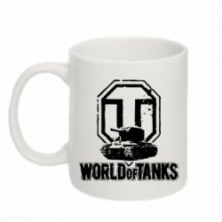 Кружка 320ml Логотип World Of Tanks