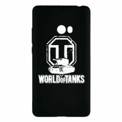 Чехол для Xiaomi Mi Note 2 Логотип World Of Tanks