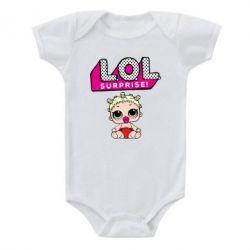 Детский бодик LoL surprise baby