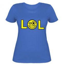 Жіноча футболка LOL