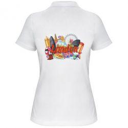 Жіноча футболка поло London mix