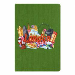 Блокнот А5 London mix