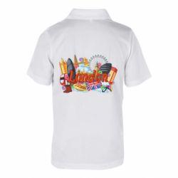 Дитяча футболка поло London mix