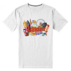 Чоловіча стрейчева футболка London mix