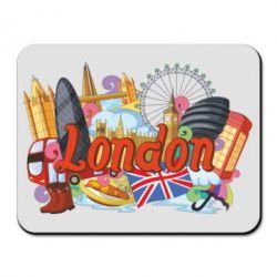 Килимок для миші London mix