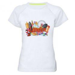 Жіноча спортивна футболка London mix