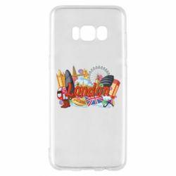 Чохол для Samsung S8 London mix