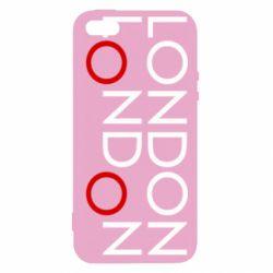 Чохол для iphone 5/5S/SE London