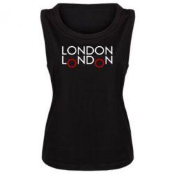 Женская майка London - FatLine