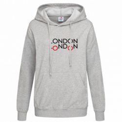 Женская толстовка London - FatLine