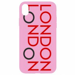 Чохол для iPhone XR London