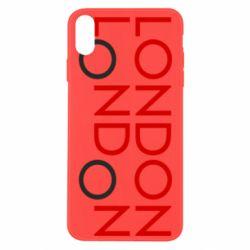Чохол для iPhone Xs Max London
