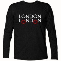 Футболка с длинным рукавом London - FatLine