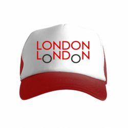 Дитяча кепка-тракер London