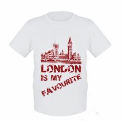 Детская футболка Лондон