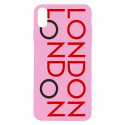 Чохол для iPhone X/Xs London