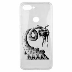 Чехол для Xiaomi Mi8 Lite Long-necked Mustachioed Monster