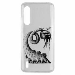 Чехол для Xiaomi Mi9 Lite Long-necked Mustachioed Monster