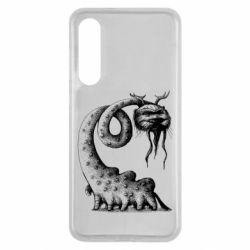 Чехол для Xiaomi Mi9 SE Long-necked Mustachioed Monster