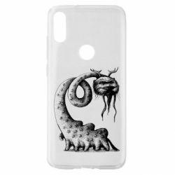 Чехол для Xiaomi Mi Play Long-necked Mustachioed Monster