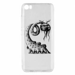 Чехол для Xiaomi Mi5/Mi5 Pro Long-necked Mustachioed Monster