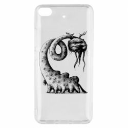 Чехол для Xiaomi Mi 5s Long-necked Mustachioed Monster