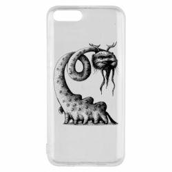 Чехол для Xiaomi Mi6 Long-necked Mustachioed Monster