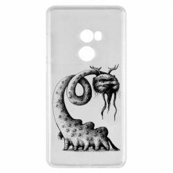 Чехол для Xiaomi Mi Mix 2 Long-necked Mustachioed Monster