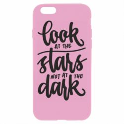 Чохол для iPhone 6 Plus/6S Plus Look at the stars not at the dark