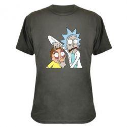 Камуфляжная футболка Look Morty