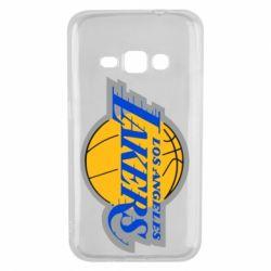 Чехол для Samsung J1 2016 Los Angeles Lakers