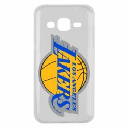 Чехол для Samsung J2 2015 Los Angeles Lakers - FatLine