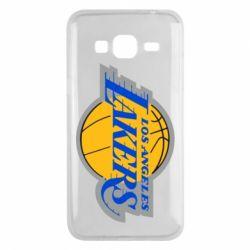 Чехол для Samsung J3 2016 Los Angeles Lakers