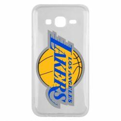 Чехол для Samsung J5 2015 Los Angeles Lakers