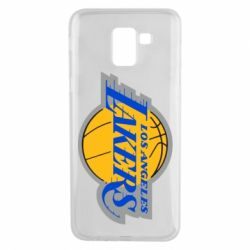 Чехол для Samsung J6 Los Angeles Lakers