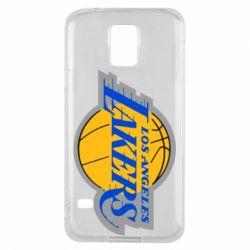 Чехол для Samsung S5 Los Angeles Lakers