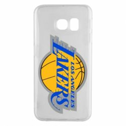 Чехол для Samsung S6 EDGE Los Angeles Lakers - FatLine
