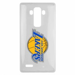 Чехол для LG G4 Los Angeles Lakers - FatLine