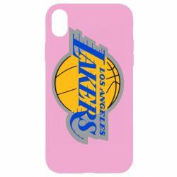 Чехол для iPhone XR Los Angeles Lakers