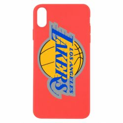 Чехол для iPhone Xs Max Los Angeles Lakers