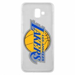 Чехол для Samsung J6 Plus 2018 Los Angeles Lakers