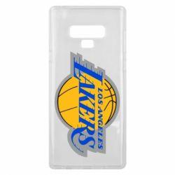 Чехол для Samsung Note 9 Los Angeles Lakers