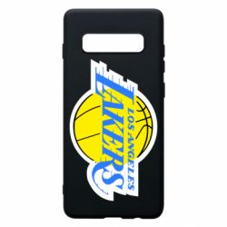 Чехол для Samsung S10+ Los Angeles Lakers